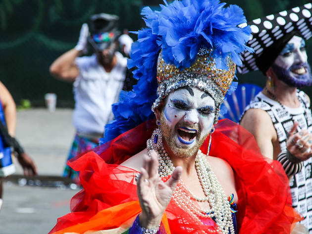 from Louis violance worldwide at gay right parades/ festivals