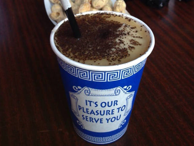 Uncle Willie's Frozen Coffee at Skinny Dennis