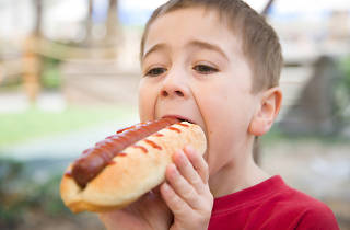 CocoWalk's Ninth Annual Hot Dog Eating Competition