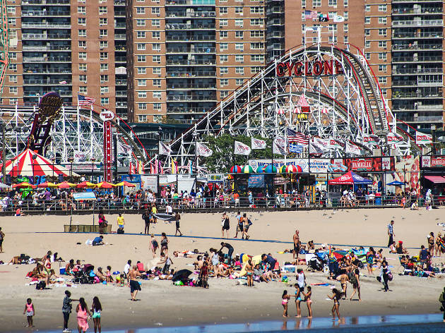 A free film series is coming to Coney Island Beach this summer