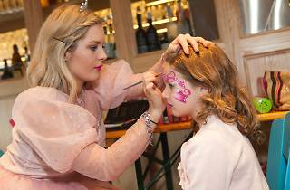 Winter wunderland face painting