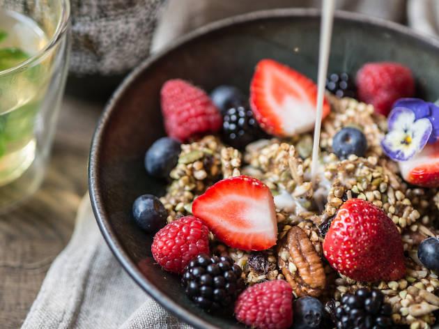 london's best breakfasts, farmacy