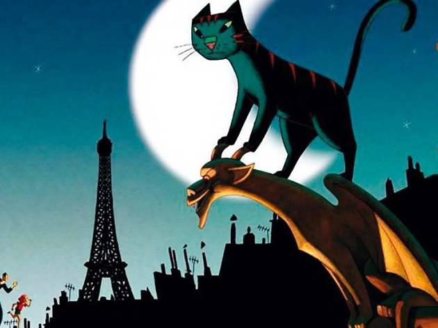 Petits cinèfils: Un gato en París