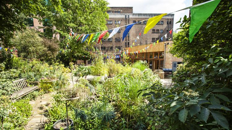 Central London's loveliest community garden has reopened