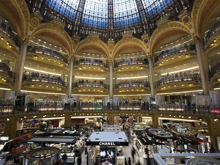 5 très glam department stores in Paris