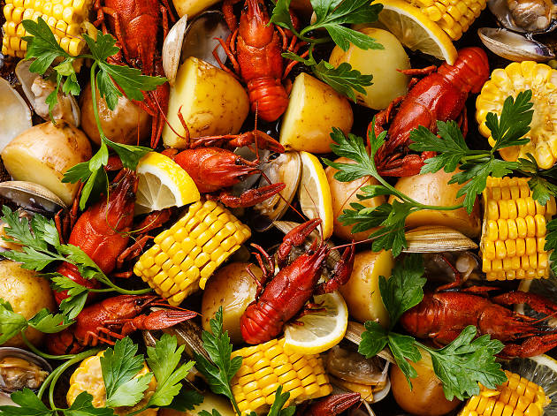 Seafood Boil at 1 Hotel