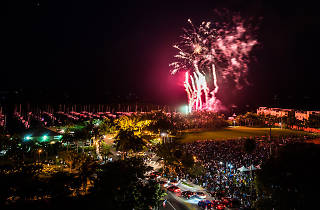 Fourth of July in Coconut Grove