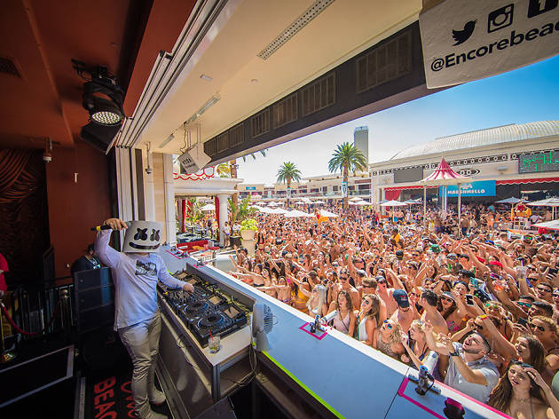 Marshmello plays Encore Beach Club