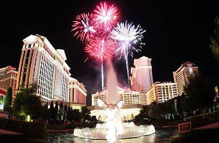 Fireworks at Caesars Palace