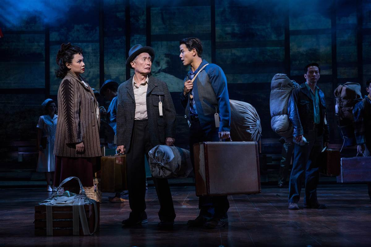 'Allegiance,' the musical inspired by George Takei's life story, is coming to Los Angeles