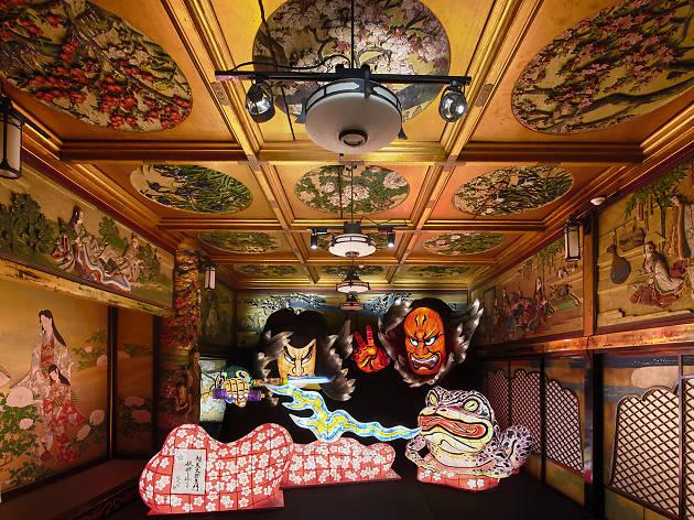 和のあかり×百段階段展~日本の色彩 日本の意匠~