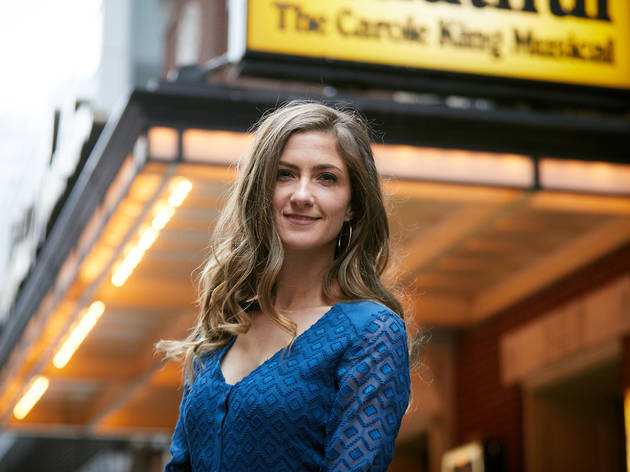 Beautiful The Carole King Musical 2017 Michael Cassel Group supplied image feat Esther Hannaford who will star as Carole King Photographer credit Nathan Johnson