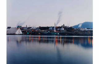 David Stephenson Human Landscapes 2017 Art Gallery of NSW supplied image 2004 The Zinc Works and Mount Wellington from Store Point from the series Marking time 2003-05 courtesy AGNSW (c) David Stephenson