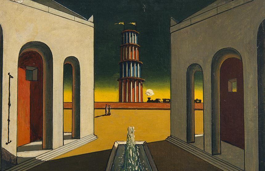 El món de Giorgio de Chirico. Somni o realitat