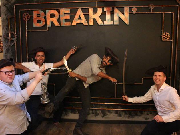 Breakin' Escape Rooms