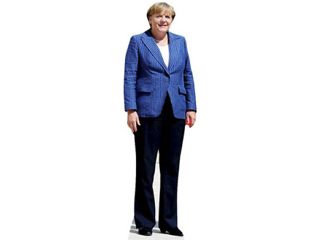 Weird Amazon: Angela Merkel Lifesize Cardboard Cutout