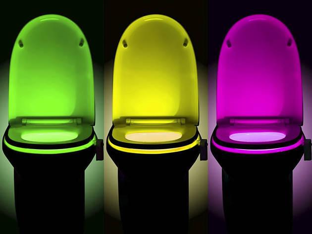 Weird Amazon: Toilet bowl night light