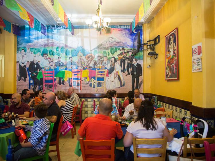 La Poblanita de Tacubaya Patriotismo