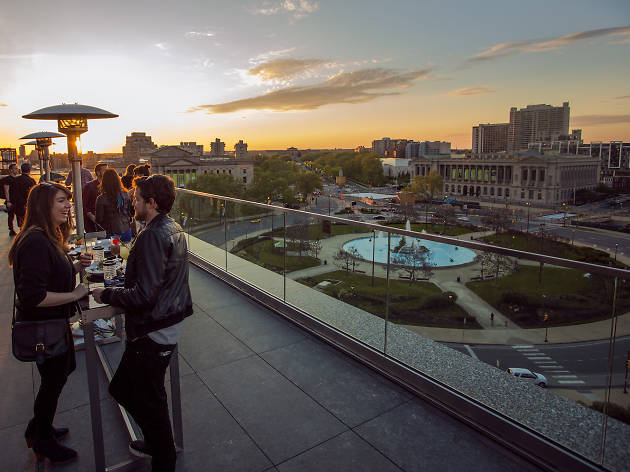 Check out our guide to the best rooftop bars in Philadelphia