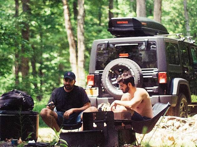 This service drops off a Jeep stocked with camping gear to your door