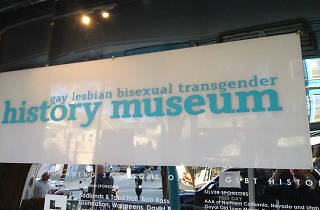 GLBT History Museum sign