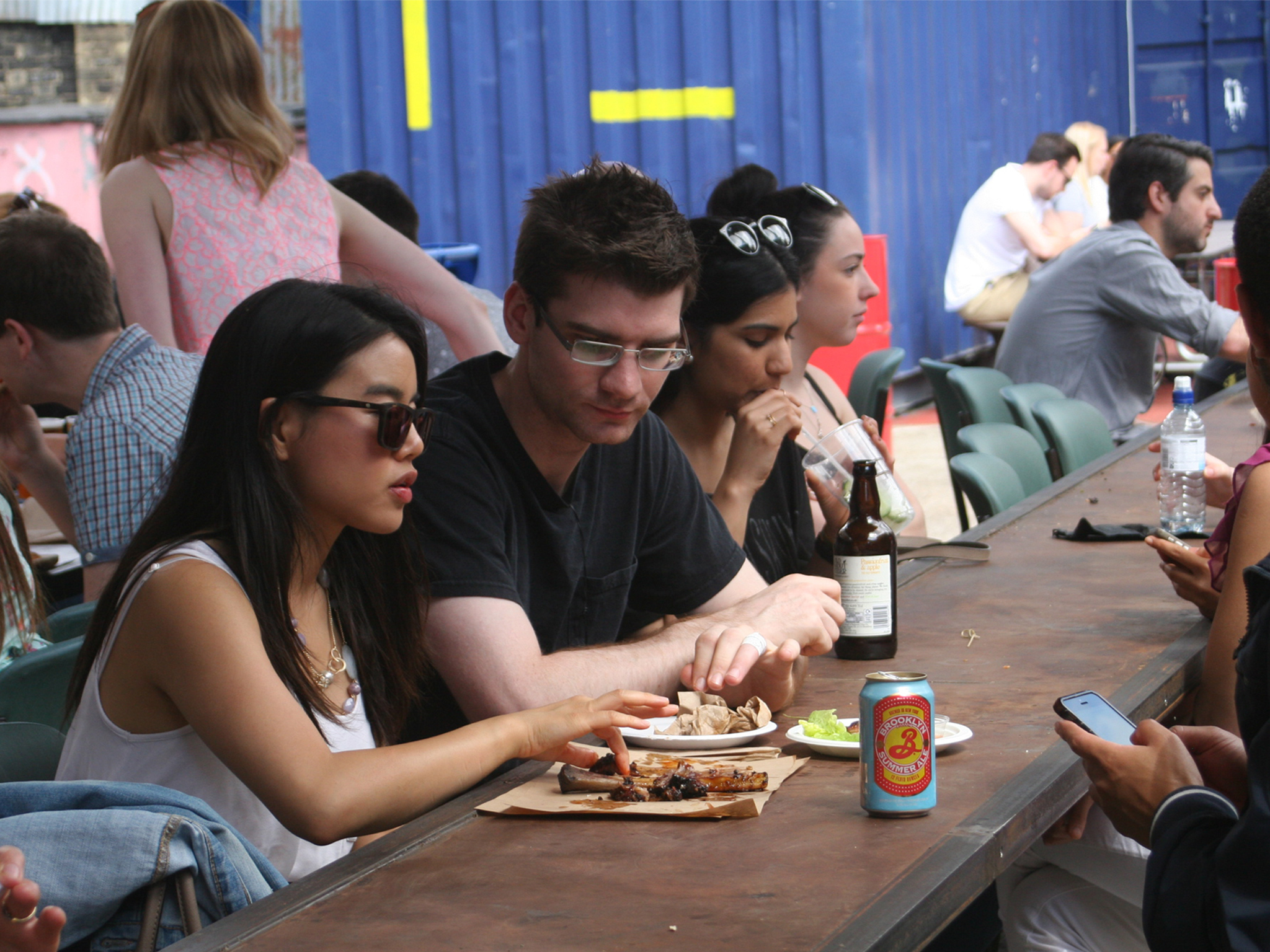 dinerama, street food markets and stalls
