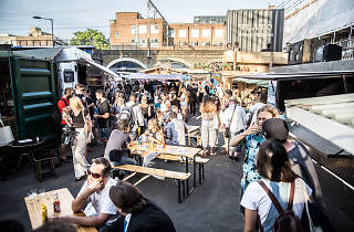 street food markets, netil market