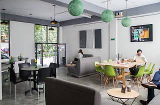 Bravo Capital, cafetería Escandón