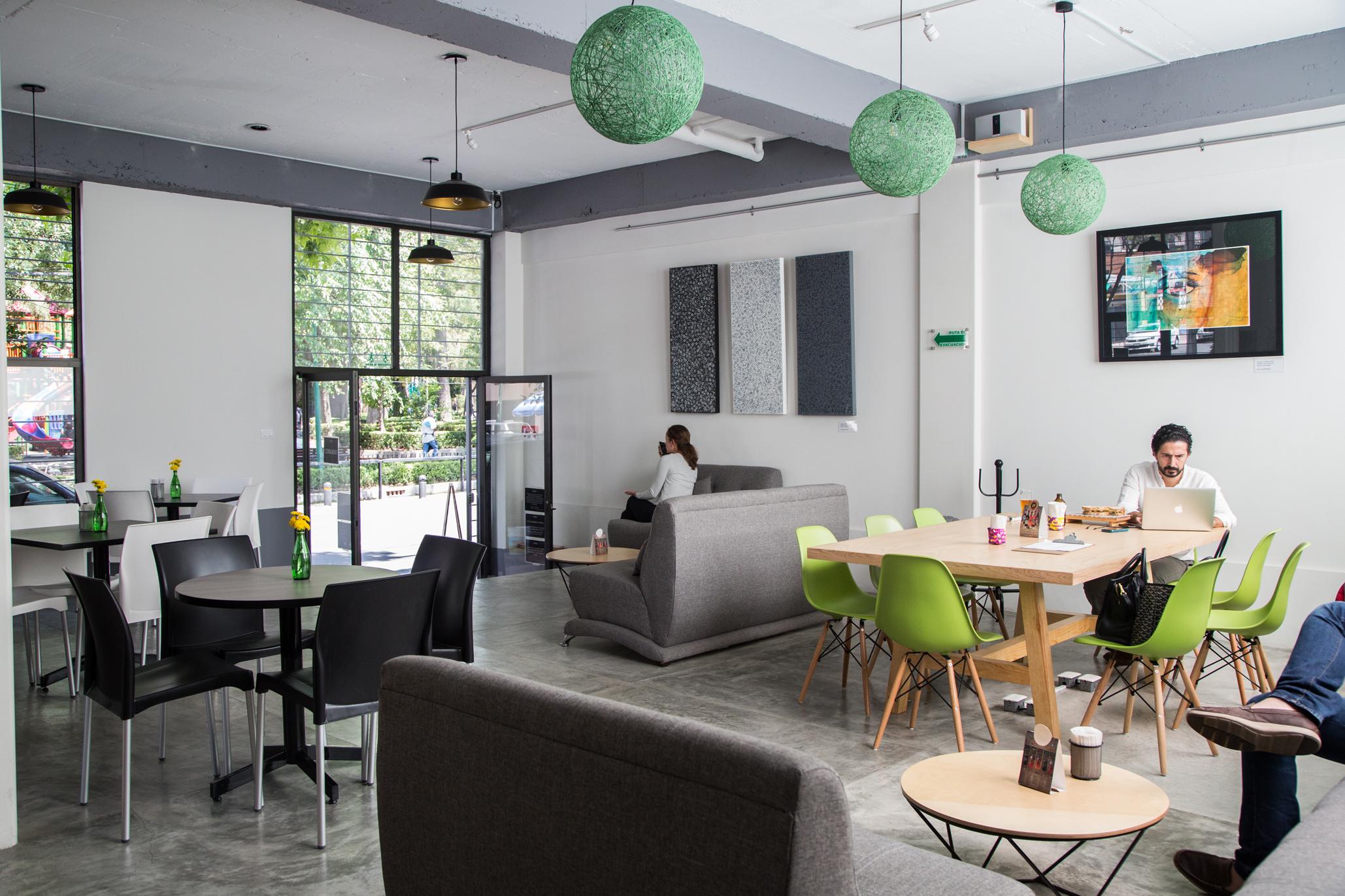 Restaurantes y cafés en la Escandón