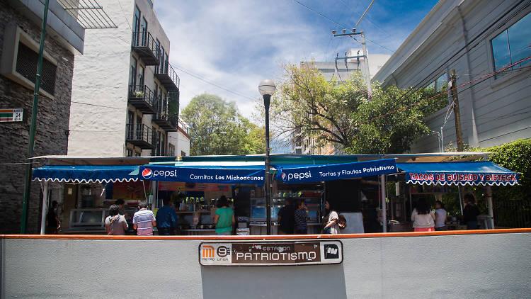 Metro Patriotismo, Escandón