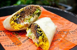 Cali-Mex burrito shot