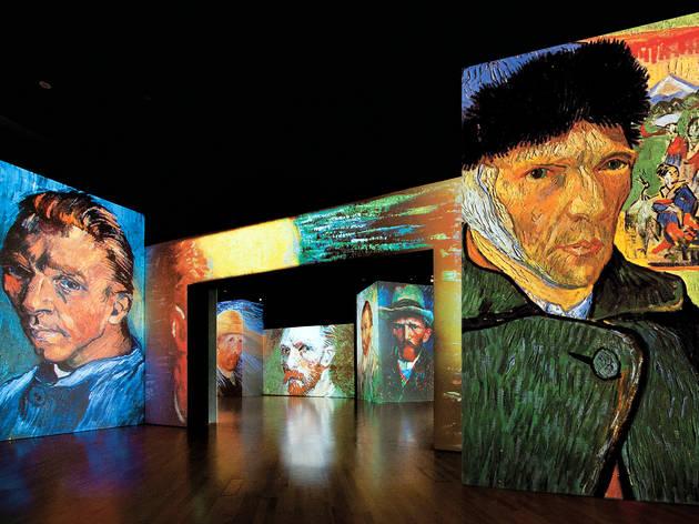 "Os ""Lírios"" de Van Gogh dançaram na minha barriga"