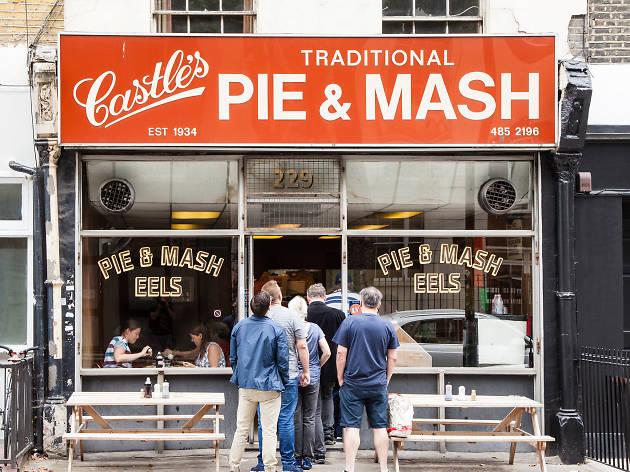 Castle's Pie & Mash, Royal College Street