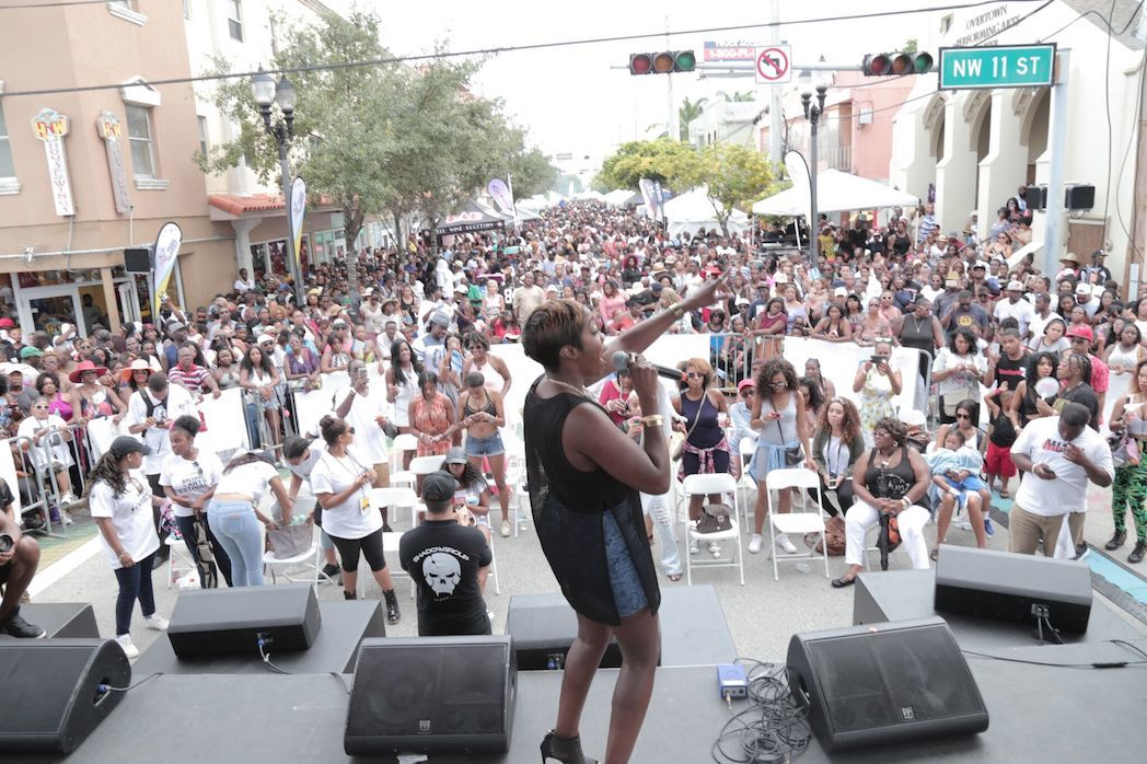 This year's Overtown Music Festival is a sexy '90s throwback