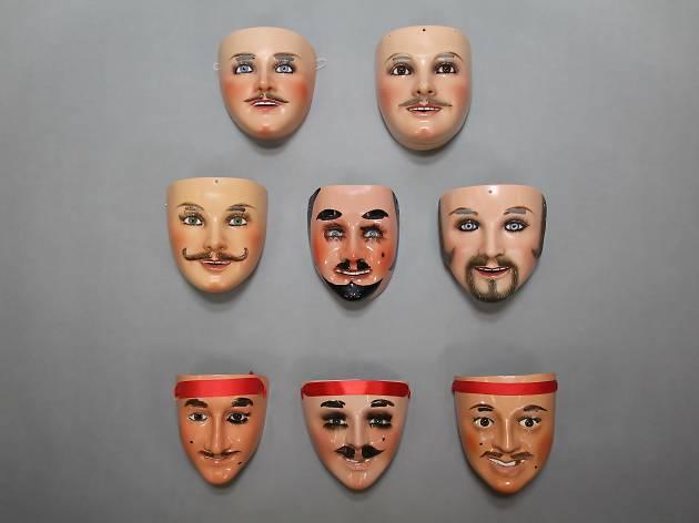 Máscaras e devoções mexicanas