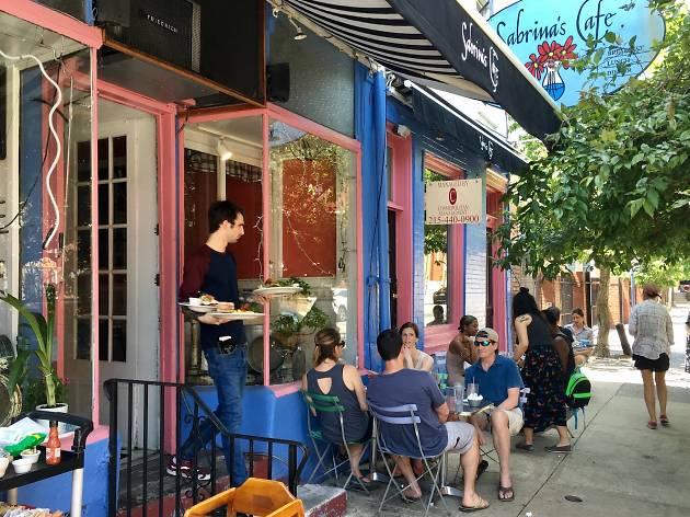 Eat brunch at Sabrina's Cafe