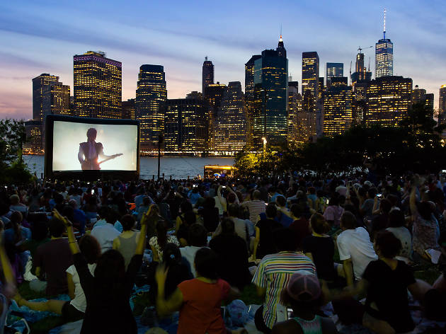 Watch movies beneath the Brooklyn Bridge this summer