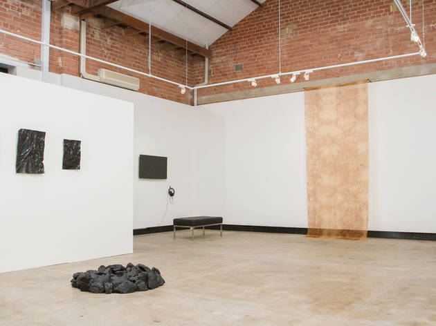 Blak Dot Gallery interior view 01 supplied 2017 Opening