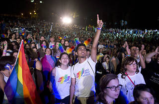 Jerusalem March for Pride and Tollerance