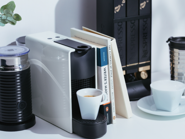 good things come in small packages with nespresso s new essenza mini. Black Bedroom Furniture Sets. Home Design Ideas