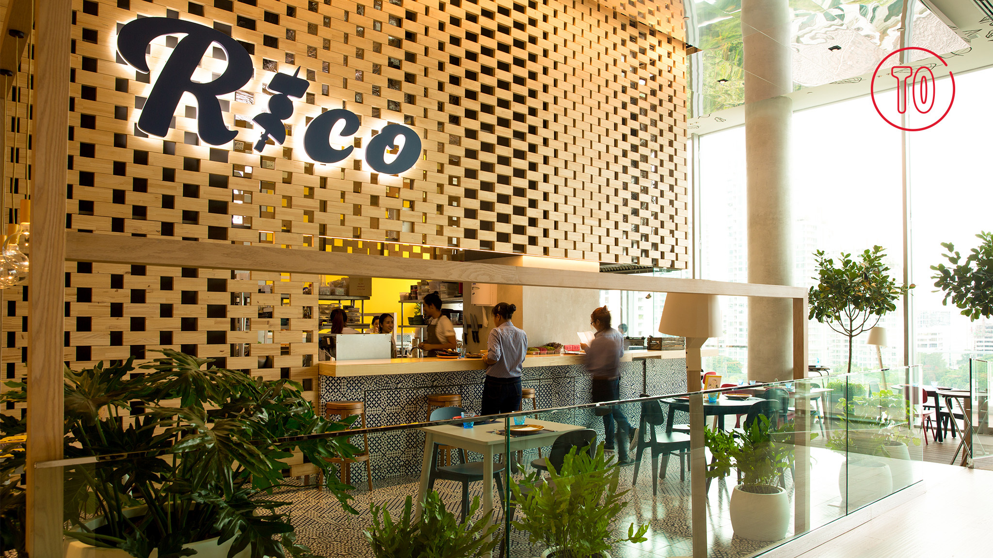 Rico, the Spanish restaurant at Central Embassy