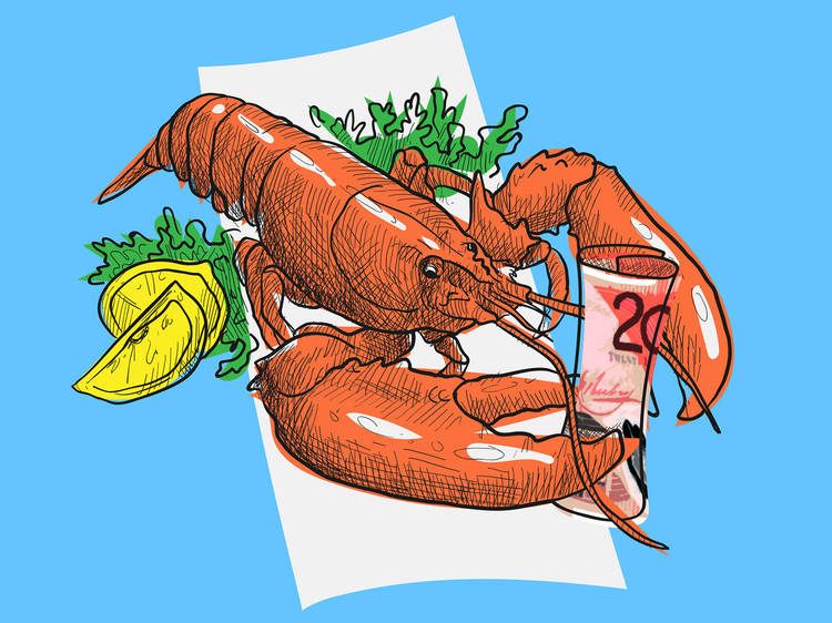 How to impress a Tinder date with nothing but a lobster