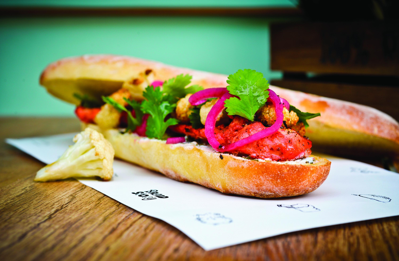 Chicken Sandwich in Curry Bread - Bread Story