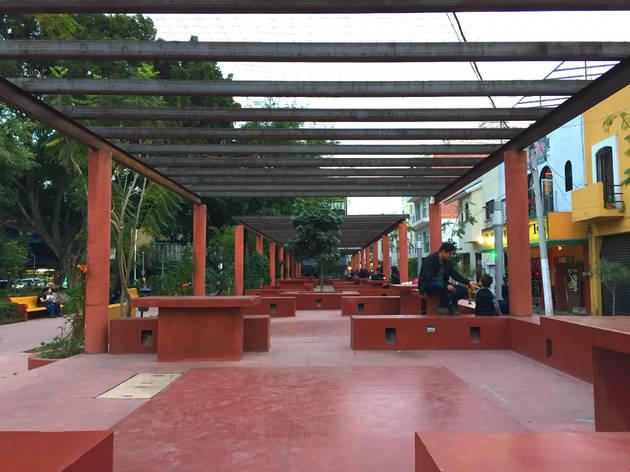 Resultado de imagen de parque rojo