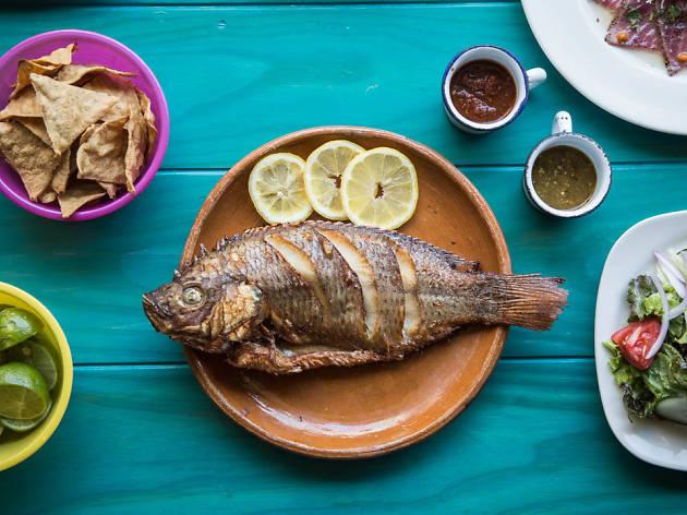 Pescado frito en la CDMX
