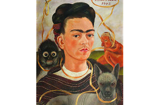 Autorretrato con changuito, Frida Kahlo