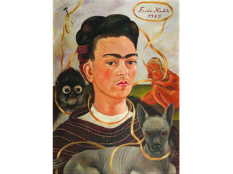 La vida de Frida Kahlo en tres obras