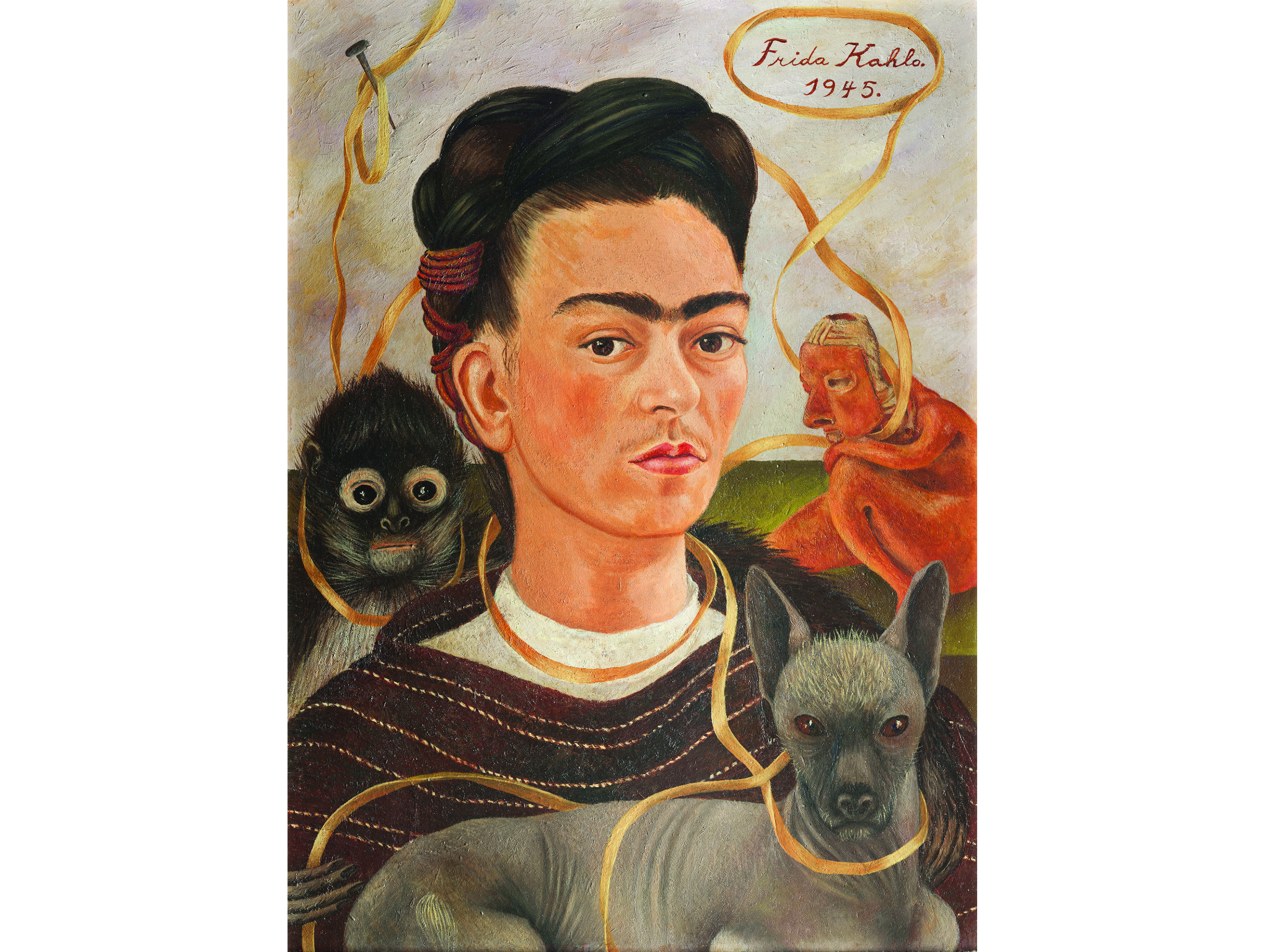 Frida Kahlo En La Ciudad De Mexico