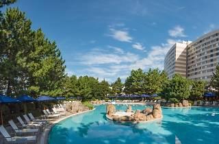 Hawaiian Garden Pool at Hilton Tokyo Bay