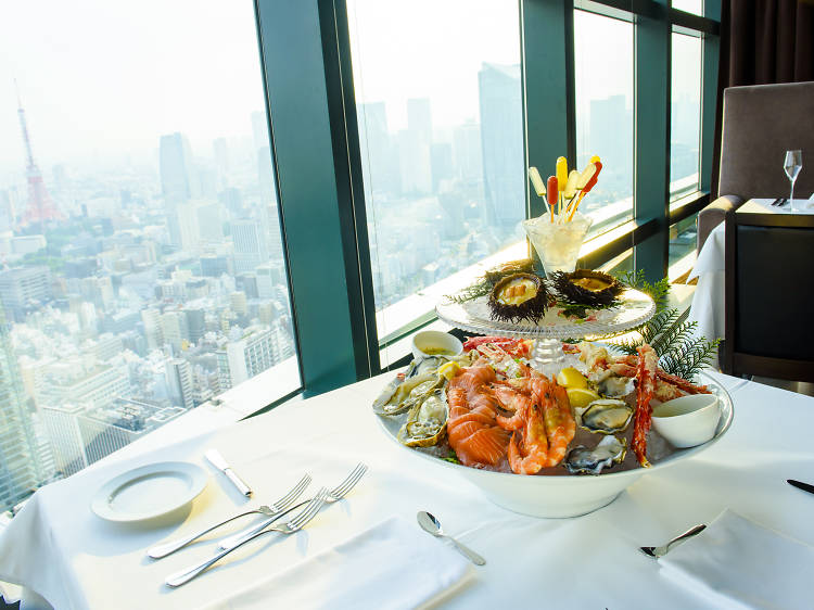 ...a romantic restaurant
